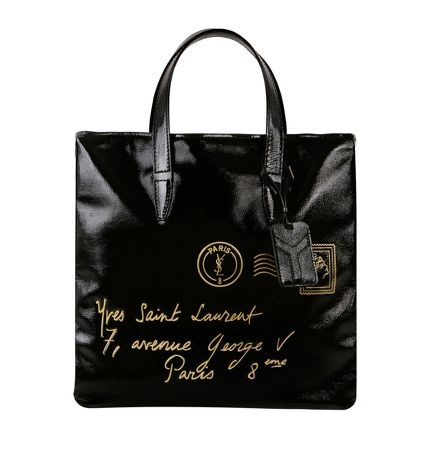 Yves Saint Laurent - US - Medium Y-Mail Tote in Black Leather - Handbags :  yves bag ysl yves saint laurent