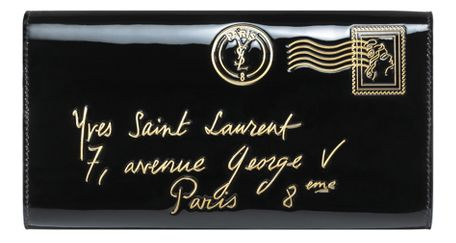 Yves Saint Laurent - US - Y-Mail Clutch - Handbags :  bag ysl yves saint laurent clutch
