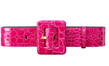 Yves Saint Laurent Square Buckle Belt