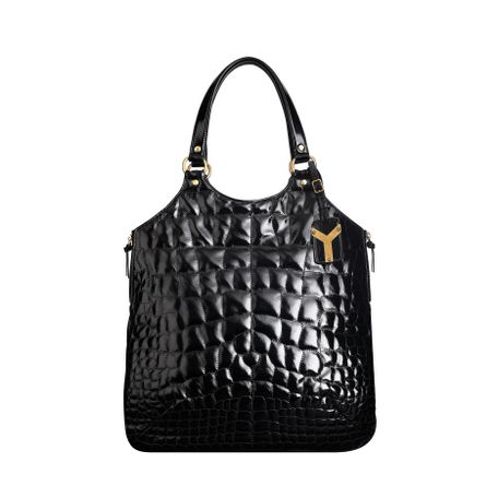 Yves Saint Laurent - US - Large Tribute - Handbags :  bag de jour quilted handbag purse neutral ysl
