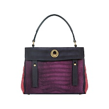 Yves Saint Laurent - US - Large Muse Two Top Handle Bag in Multicolor Suede - Top Handle