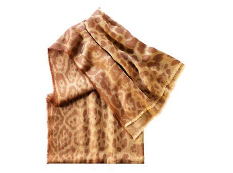 Yves Saint Laurent - US - Leopard Printed Scarf - Accessories