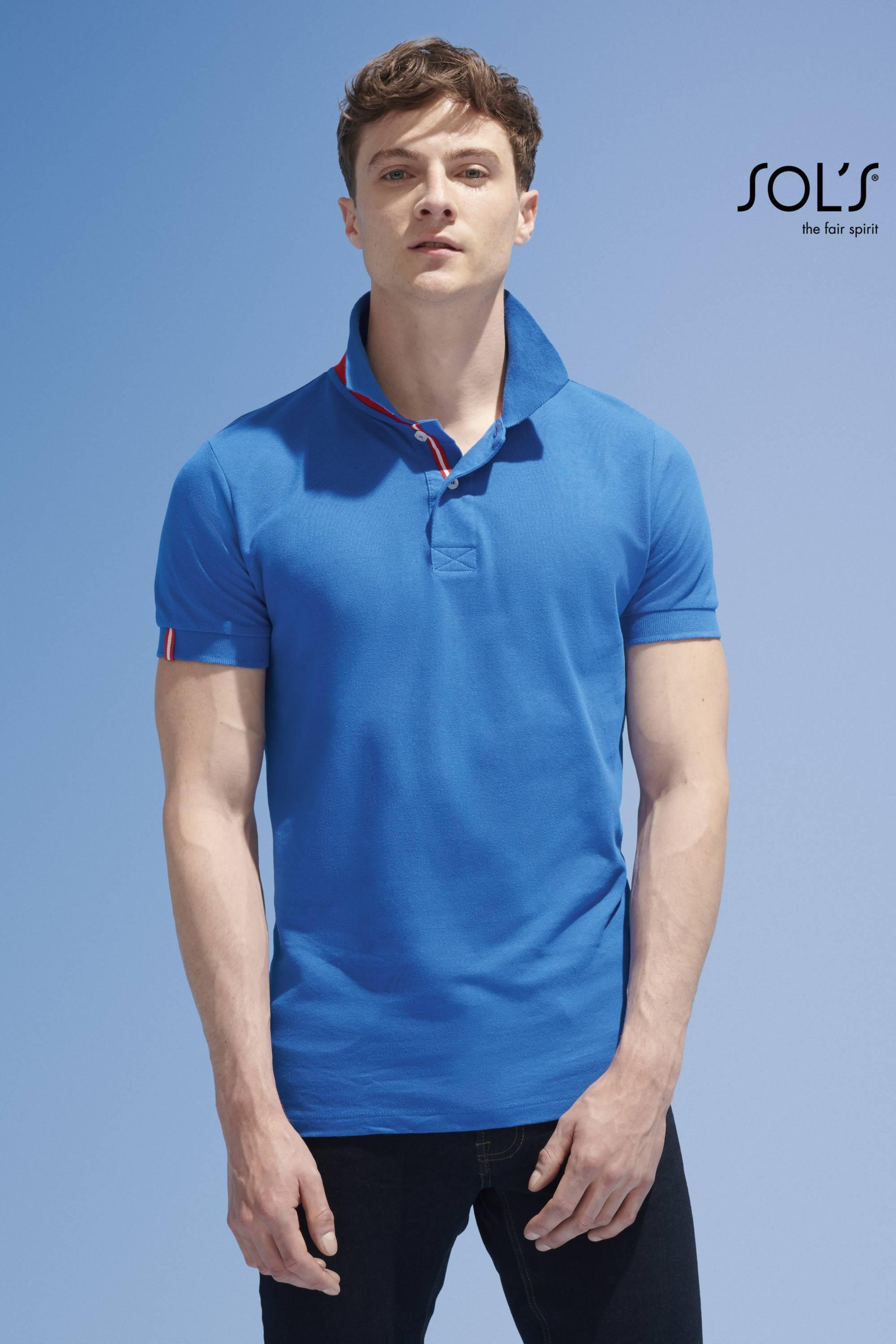 Sol 39 s polo patriot oficina da t shirt for Sol s t shirt