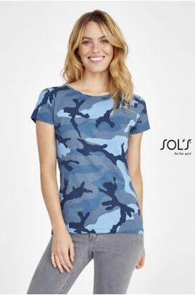 Camo Women T-paita - T-paidat muut - 01187 - 1