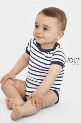 Miles Baby lasten body - Lasten mallisto SOL'S - 01401 - 1