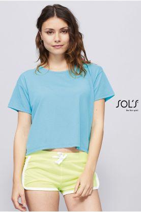 Janeiro naisten shortsit colours - Housut & Shortsit  SOL'S - 01697 - 1
