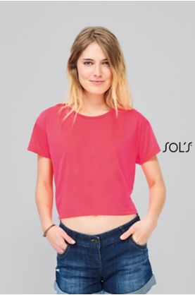 Maeva naisten crop top - T-paidat muut - 01703 - 1