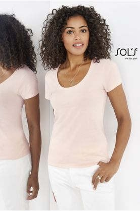 Metropolitan naisten T-paita (T10) - T-paidat muut SOL'S - 02079 - 1