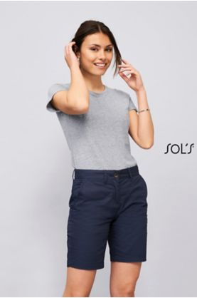 Jasper Women shortsit - Housut & Shortsit  SOL'S - 02762 - 1