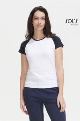 Milky Naisten Raglanhihainen T-paita - T-paidat muut - 11195 - 1