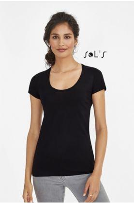 Must Naisten T-paita - T-paidat muut - 11402 - 1