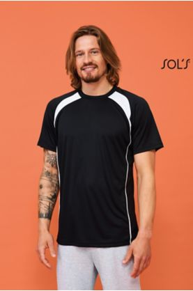 Match Miesten 2-värinen 1/2 T-paita - T-paidat muut - 11422 - 1