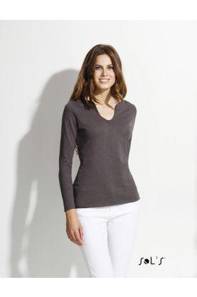 Marais naisten 1/1 SLUB t-paita - SOL'S Outlet - 11426 - 1