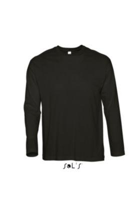 Vintage T-paita 1/1hiha Black&Deep Black - SOL'S Outlet - 11530POiSTO - 2