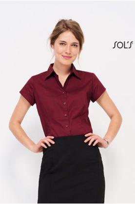 Excess 1/2-hiha naisten paita Stretch - Kauluspaidat / Neuleet - 17020 - 1