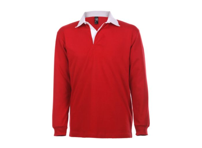 0535c9bd900 MEN S TWO COLOUR RUGBY POLO SHIRT